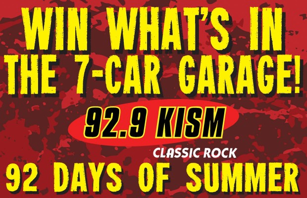 The 92 Days of Summer – Win Whats in the 7 Car Garage!